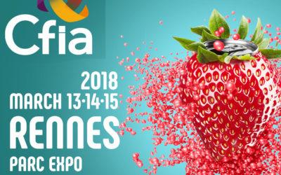 CFIA Rennes 2018 : Nous y serons !