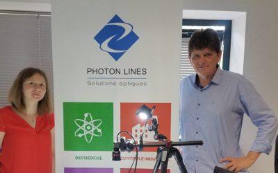 Photon Lines dans Ouest France