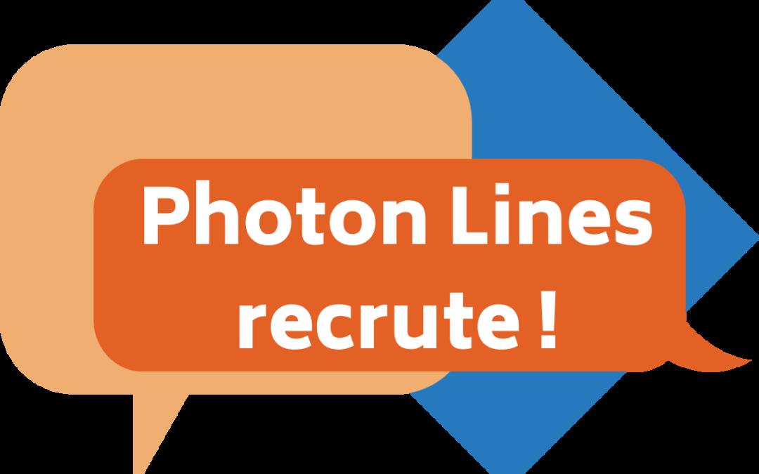 Photon Lines recrute !